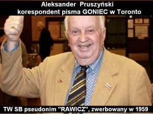 0. Aleksander Pruszyński RAWICZ