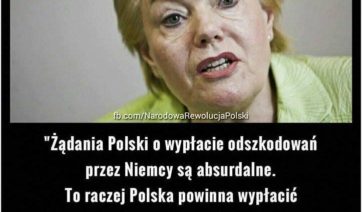Kiedy wreszcie Niemcy zapłacą Polsce reparacje wojenne ? Opozycja zrezygnowała !