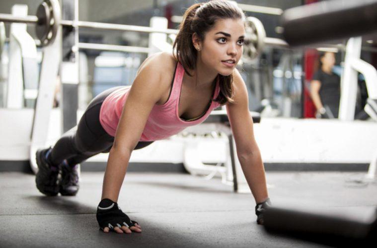 Kobiece mięśnie na pakerni