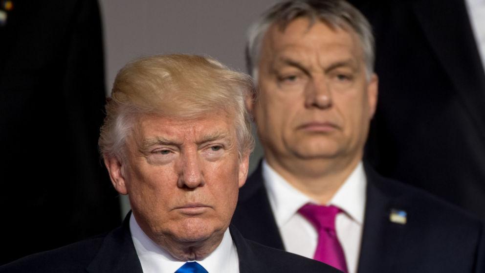 Nie wierzyć Trumpowi! To też agent globalistów. Atakuje Orbana.