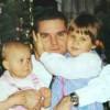 Wojciech Pomorski z córkami Iwoną-Polonią i Justyną Pomorskimi