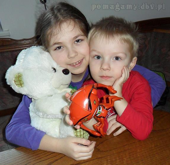 Rodzeństwo z Olsztyna liczy na naszą pomoc – pomagamy dbv pl