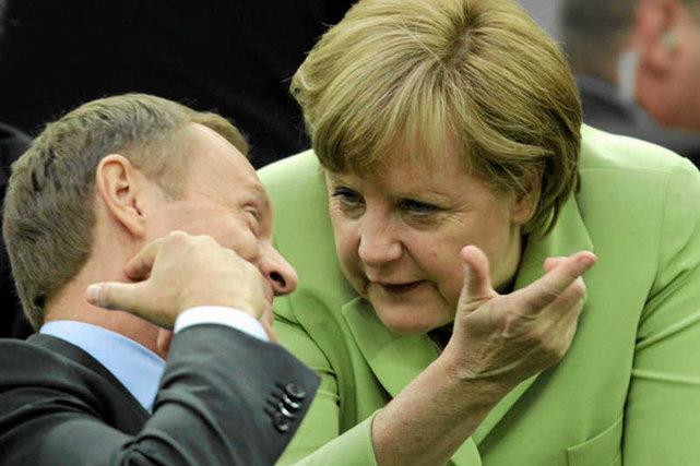 Angela Merkel o dymisji Gowina
