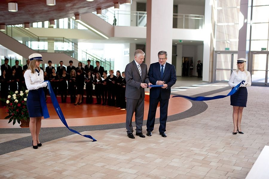 Prezydent Komorowski na Uniwersytecie Rzeszowskim