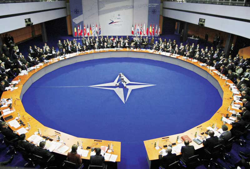 NATO w narożniku