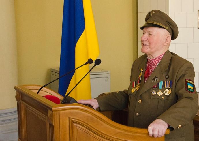 Sotenny UPA został honorowym obywatelem Lwowa