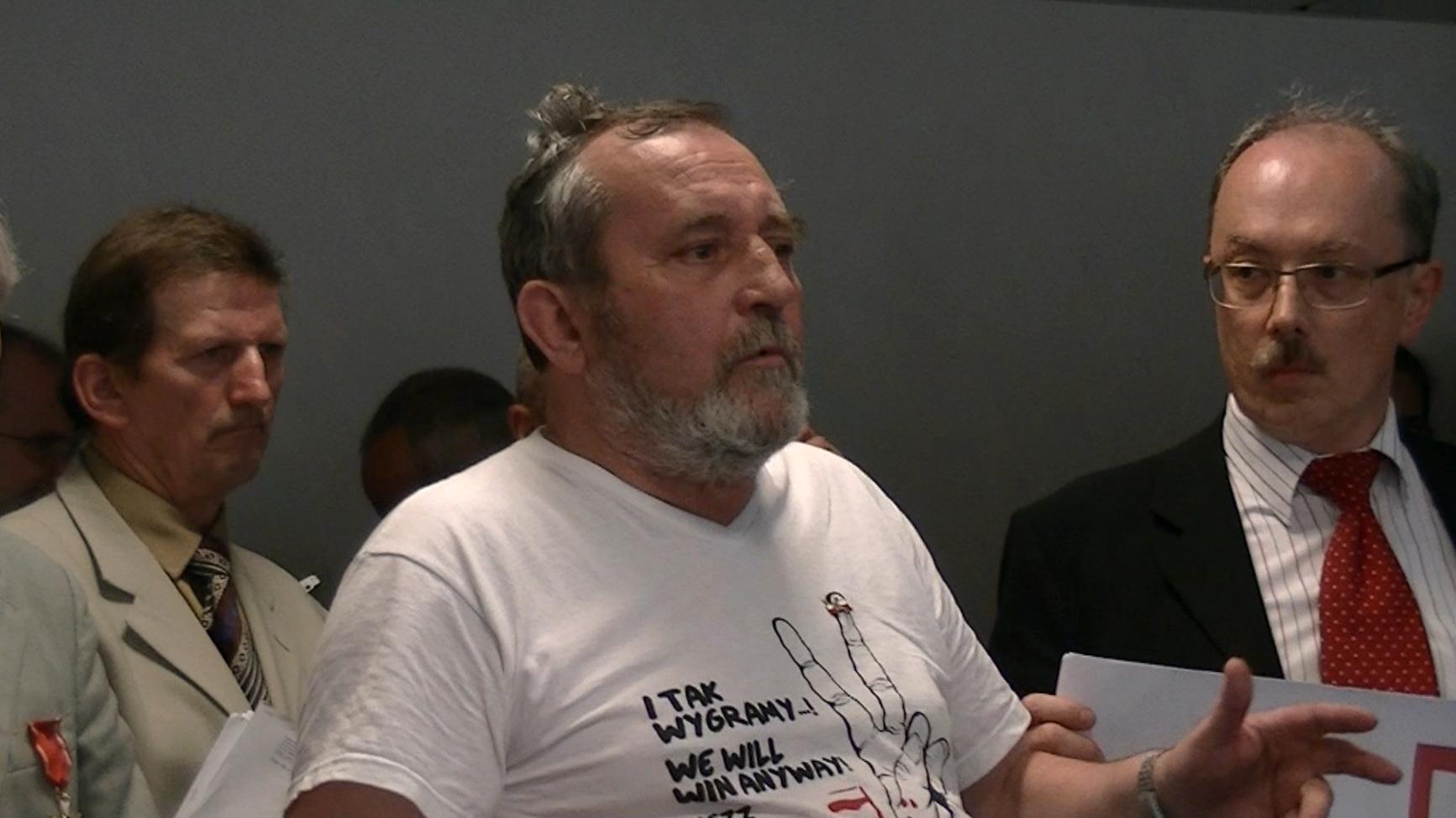 WOLNY CZYN: Protest tortowy Warszawa (reportaż Z. Stanowskiego)