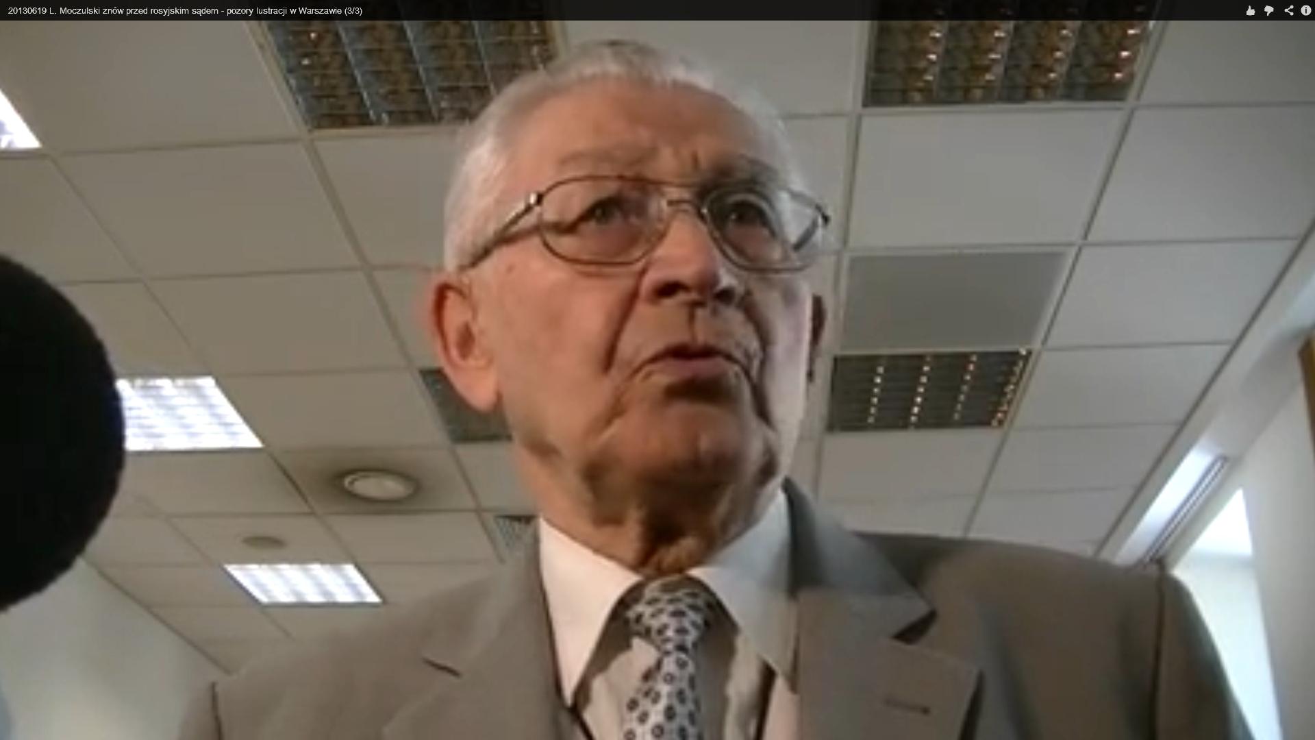 WOLNY CZYN: Proces Leszka Moczulskiego przed ławą przysięgłych