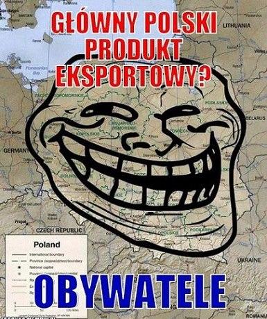 EKSPORT POLAKÓW