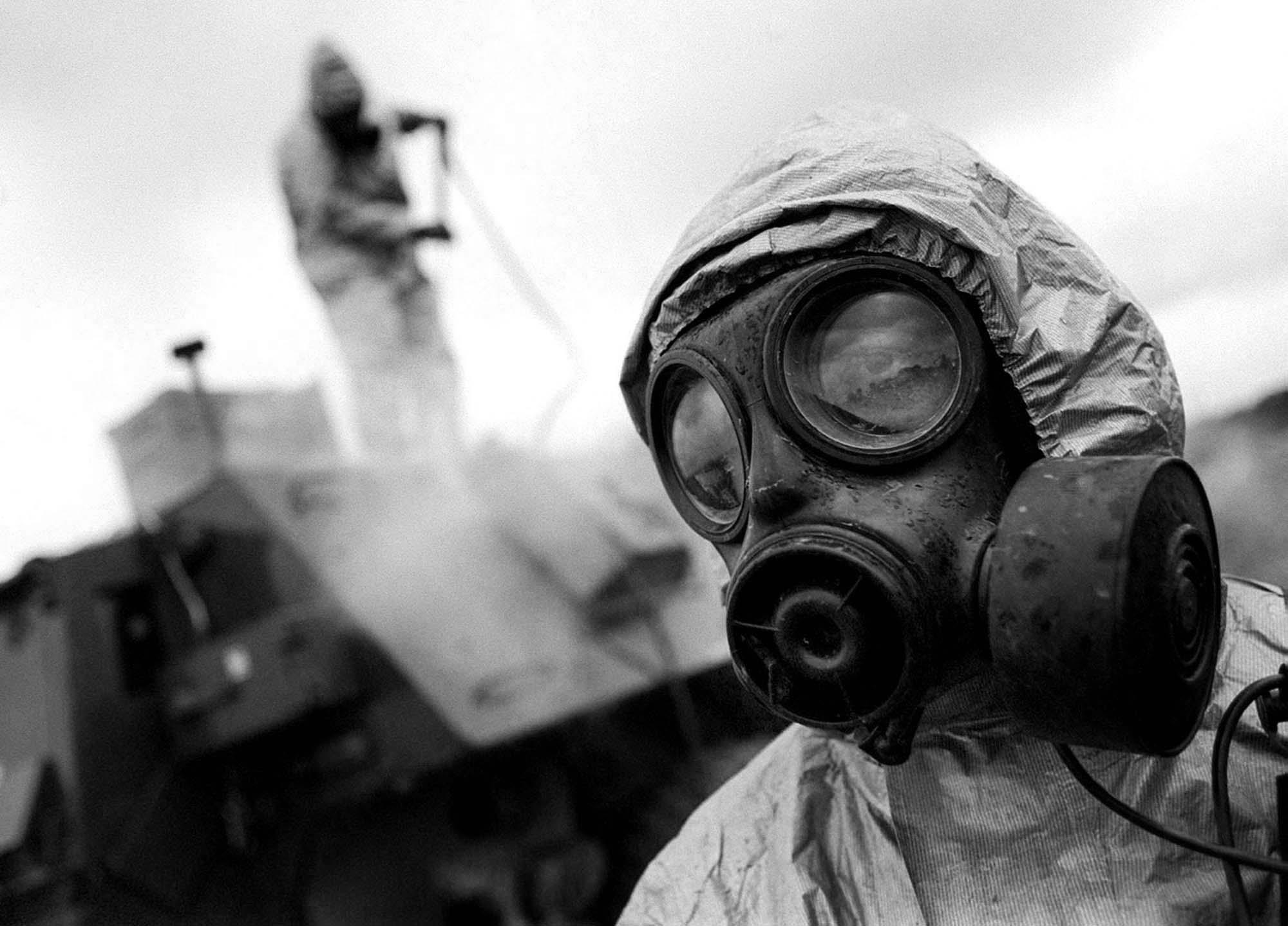 Bron chemiczna w Iraku i w Syrii-widziane z USA