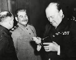Stalin z Churchillem przepili Polskę ?