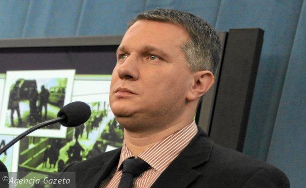 Wipler. Jarosław Kaczyński jest jak Atlas