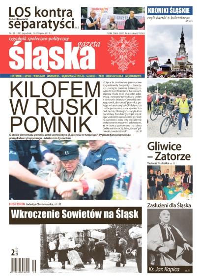 Gazeta Śląska: W 1944 mieliśmy Sowietów witać. Teraz ich pożegnamy