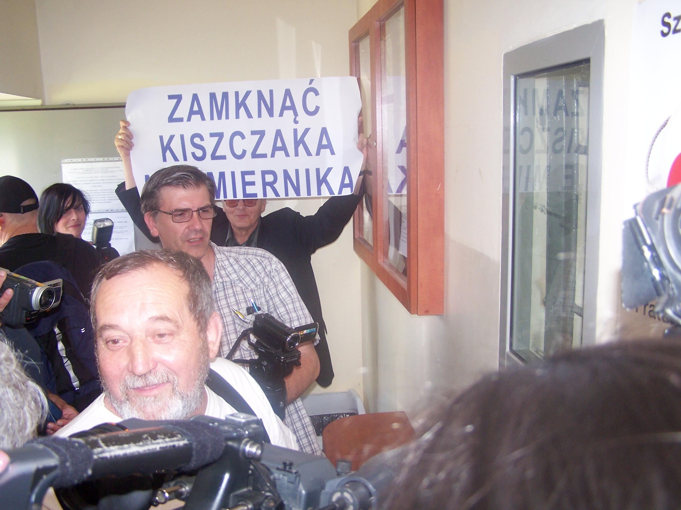 WOLNY CZYN: Miernik Tortowy aresztowany!