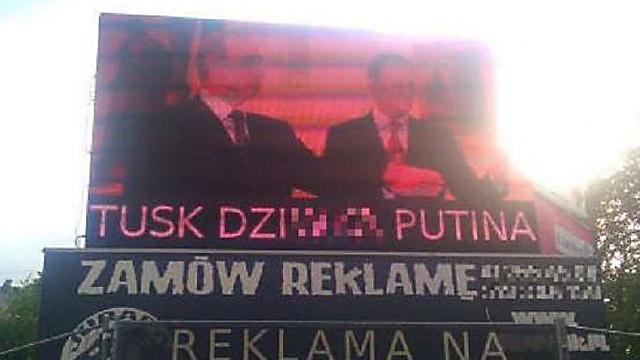 Tusk nie jest dziwką Putina