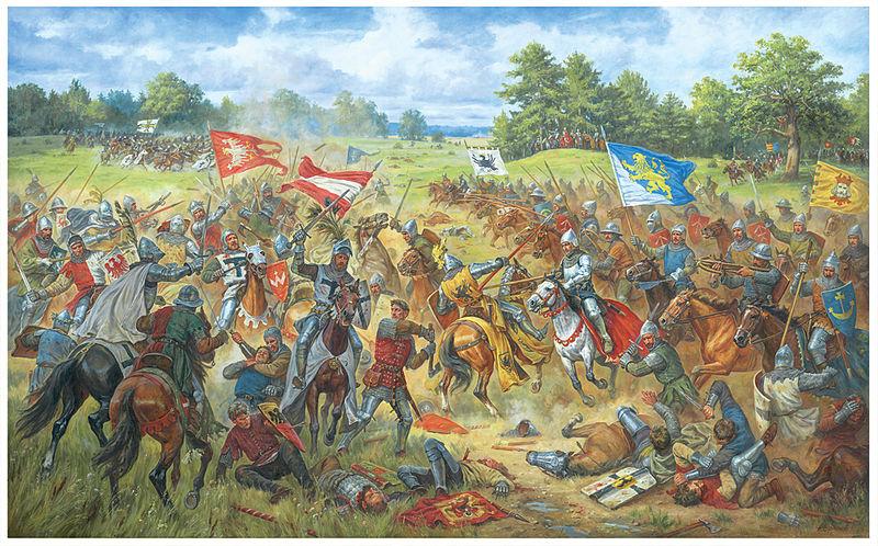 Przyczyny Bitwy Grunwaldzkiej