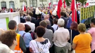 Miesięcznica, Krakowskie Przedmieście 10 07 2013 r