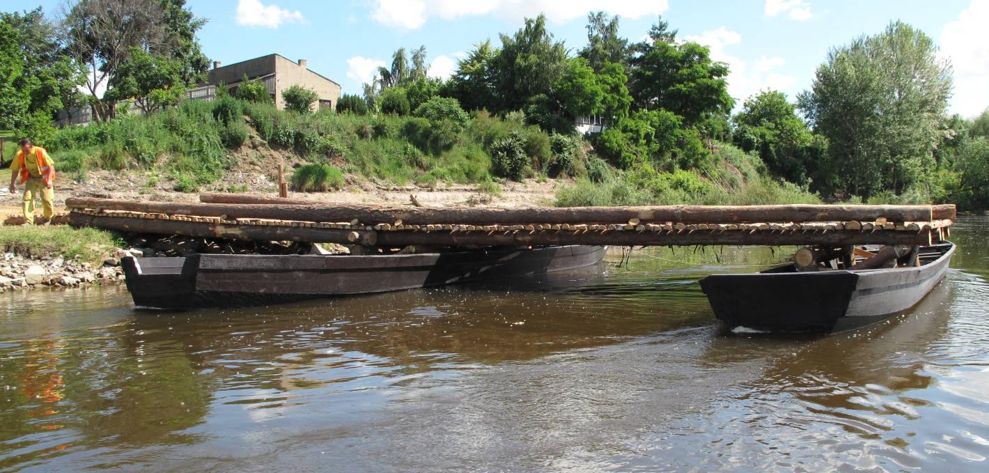603 lata mostu pontonowego Jagiełły