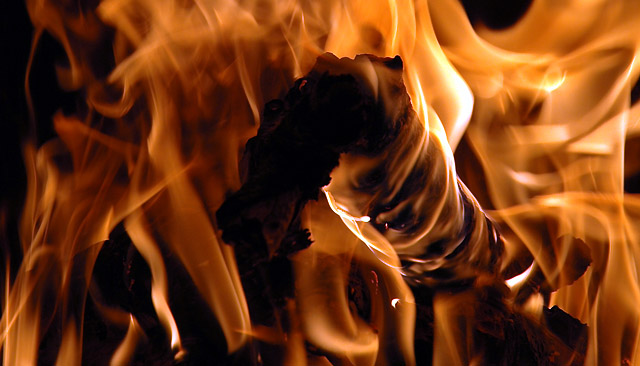 Pożar magazynu opon