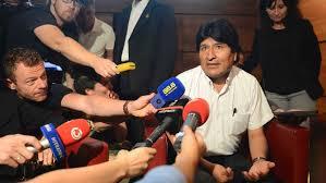 Incydent z samolotem Prezydenta Boliwii