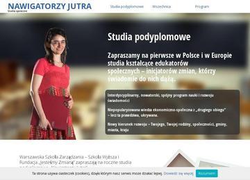 """""""Nawigatorzy Jutra""""- studia o nowej ekonomii"""