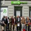 Protest pod Getin Bankiem 1