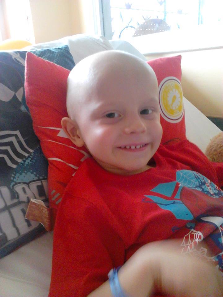 3 letni Wojtuś toczy ogromną bitwę z rakiem!