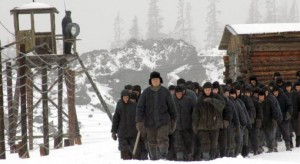 "On the set of Nikolai Dostal's film ""Lenin's Will"" in Murmansk Region"