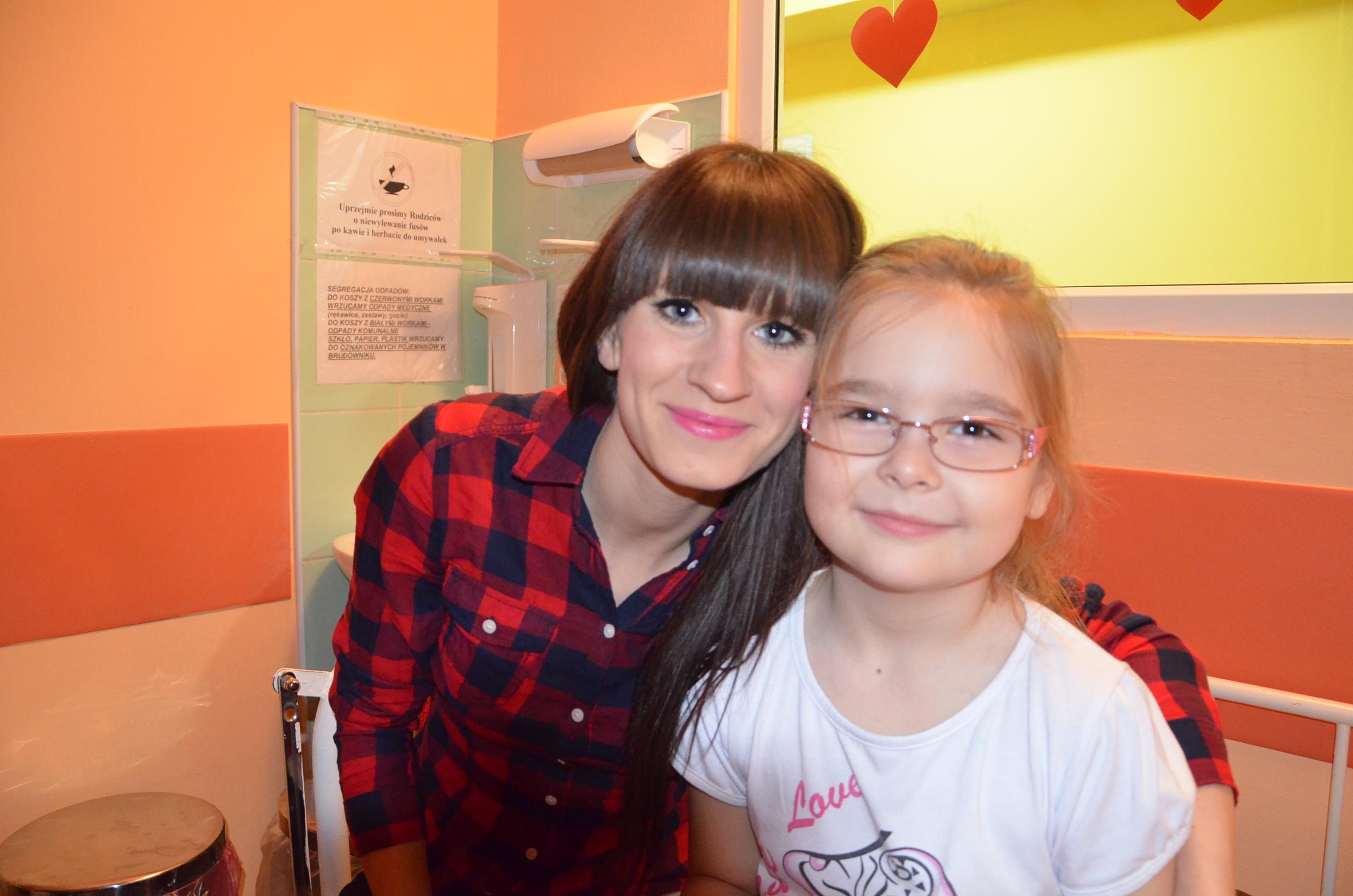 Daria walczy z białaczką!