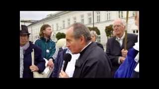 Protest Związkowców. Podniesienie Krzyża (część 1)