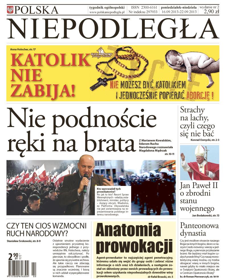 """""""Polska Niepodległa"""", nr 2. Zwiastun"""