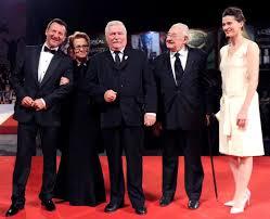 Kolaboracja i wysługiwanie się Niemcom  Wałęsy i Wajdy