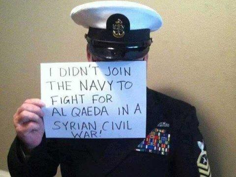 Żołnierze USA nie chcą walczyć dla arabskich szejków!