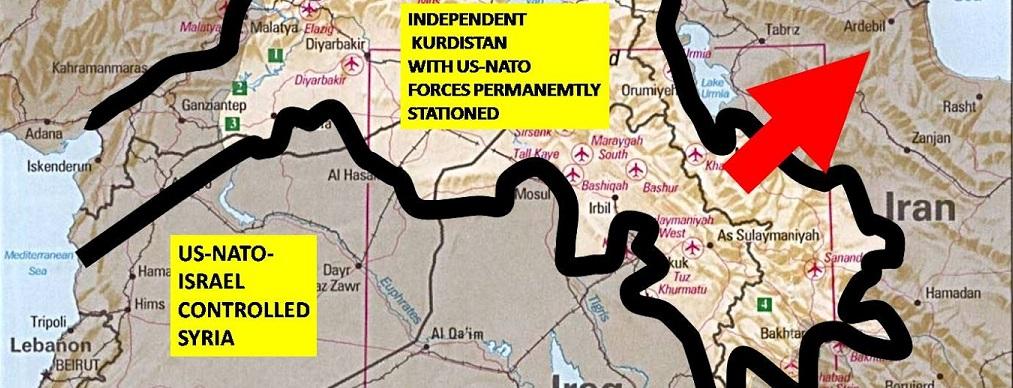 Wojna USA i Izrael z Rosją w Syrii-widziane z USA
