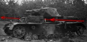 zniszczony czołg
