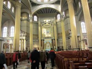 1. Wnętrze kościoła