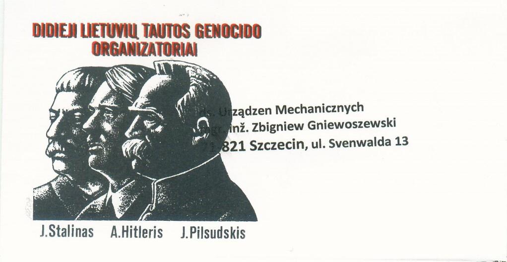 Litwini oficjalnie zestawiają Józefa Piłsudskiego z Hitlerem i Stalinem