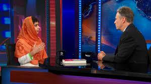 Malala- przyszła Noblistka zaszokowała słynnego Jon Stewarta