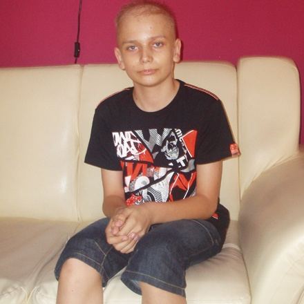 14 letni Jakub wymaga wiele troski i opieki…