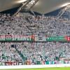Żyleta na meczu z Trabzonsporem - fot. Legionisci.com.