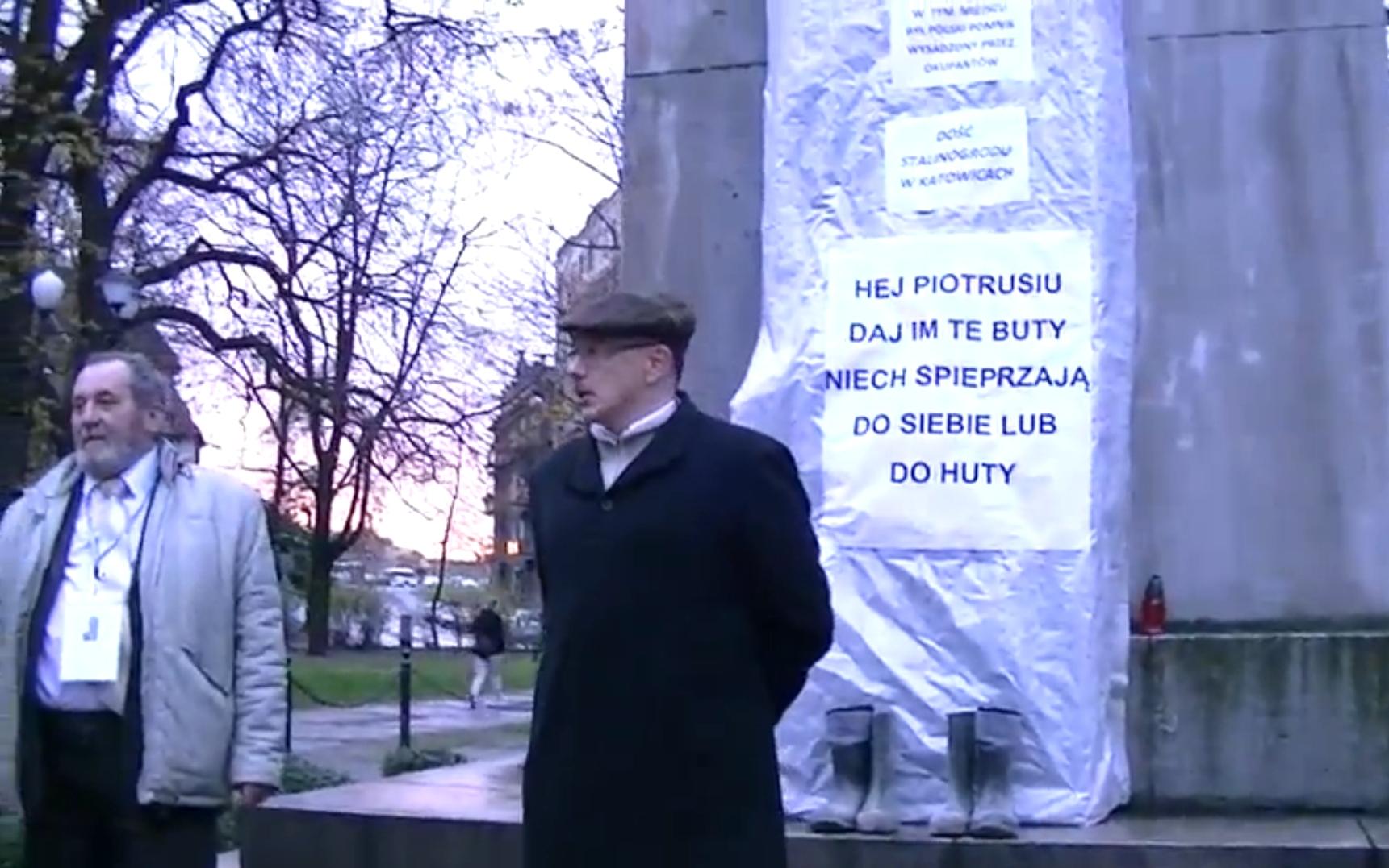 WOLNY CZYN: Rocznica przewrotu bolszewickiego