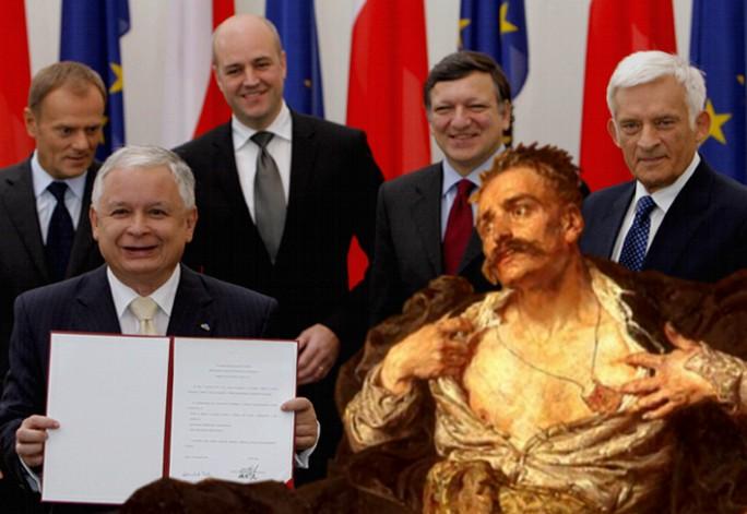Winnicki: Kaczyńscy uczestniczyli w zdradzie Polski
