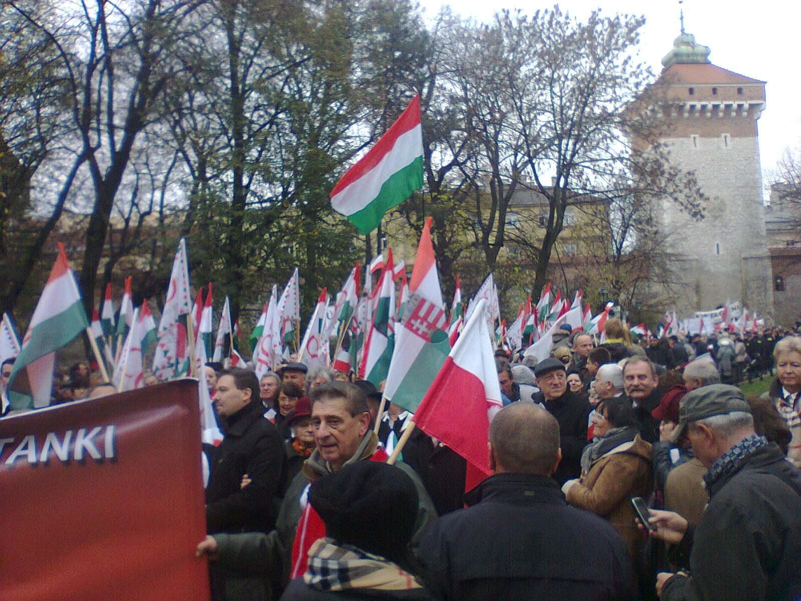 Święto i Marsz Niepodległości AD 2013