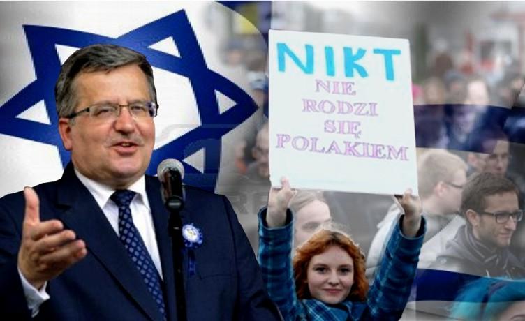 """Najwyższy Polski polityk w Izraelu – media RP """"morda w kubeł""""!"""
