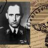 szef niemieckiego gestapo na żydowskim cmentarzu