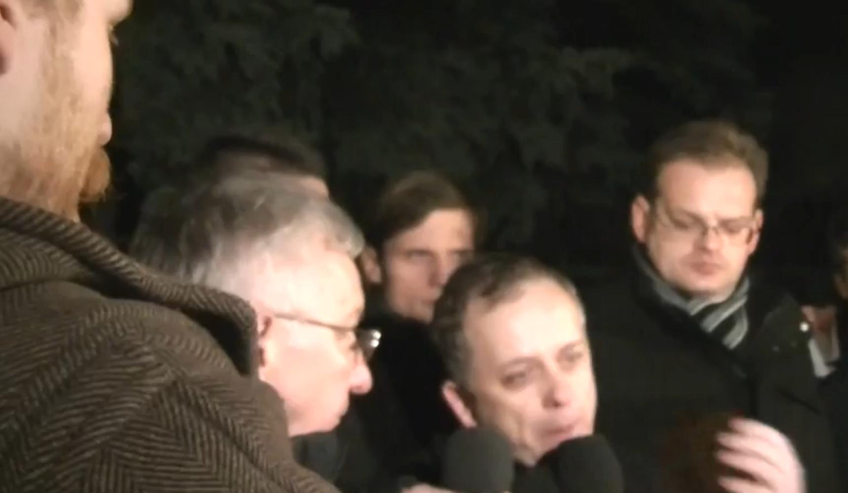 WOLNY CZYN: 12/13 grudnia – Pikieta przeciw Jaruzelskiemu FILM