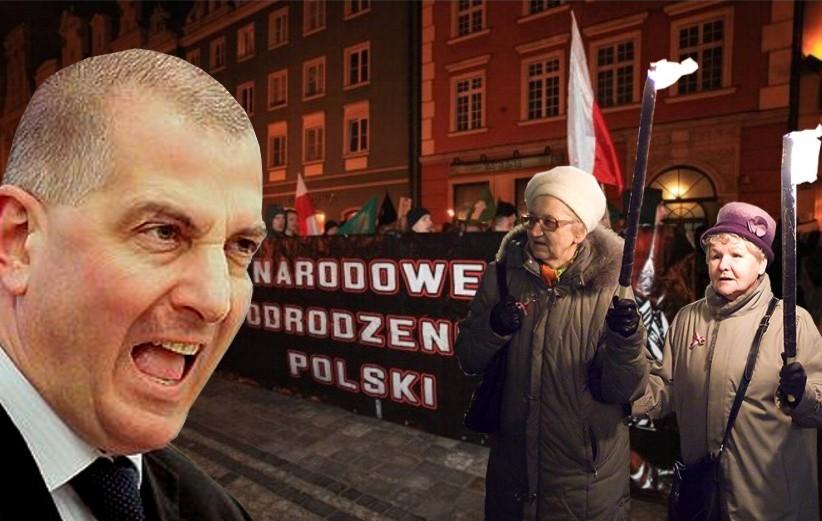 """""""Nacjonalistyczna hołota"""" kontra Dutkiewicz: 50:0 dla NOP"""