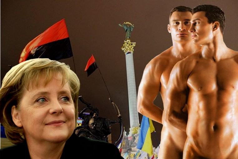 """Niemcy i Angela Merkel stawiają na Udar: """"Kliczko jest naszym człowiekiem"""" !"""
