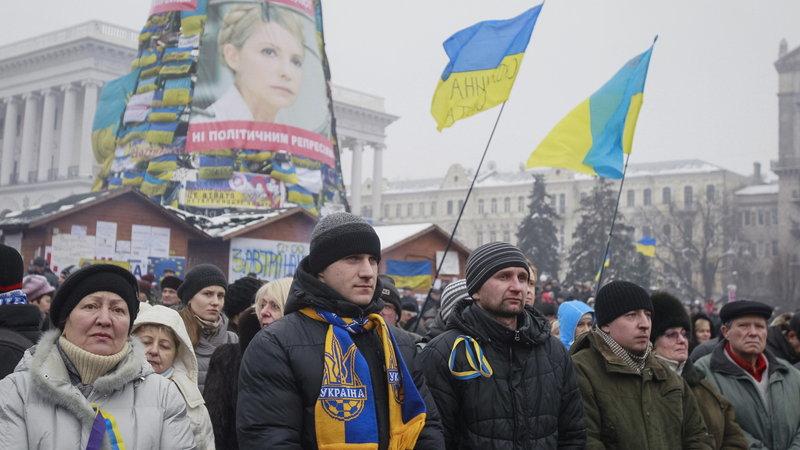 Janukowycz nie rzuci Ukrainy na kolana!