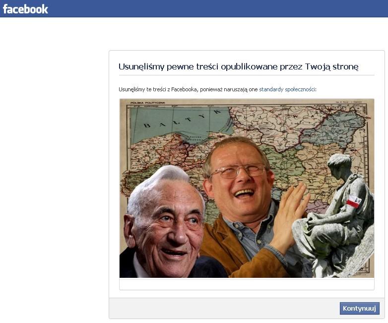 """""""Ukraiński syndrom"""" na *facebook'u* czyli O czym dzisiaj nie wolno mówić !"""